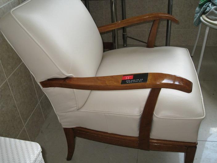 Обтянуть мебель кожей своими руками