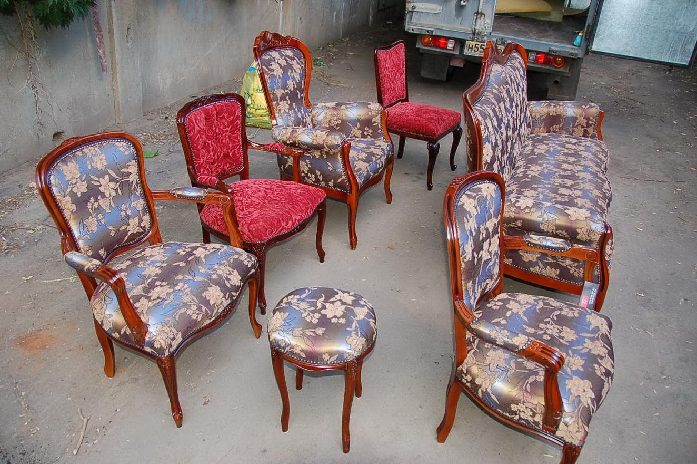 Перетяжка стульев своими руками с
