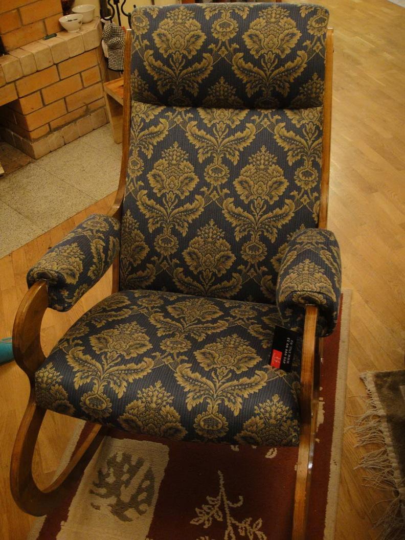 Обтяжка старого кресла своими руками 95