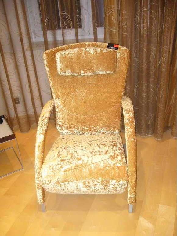 Обтяжка старого кресла своими руками 39