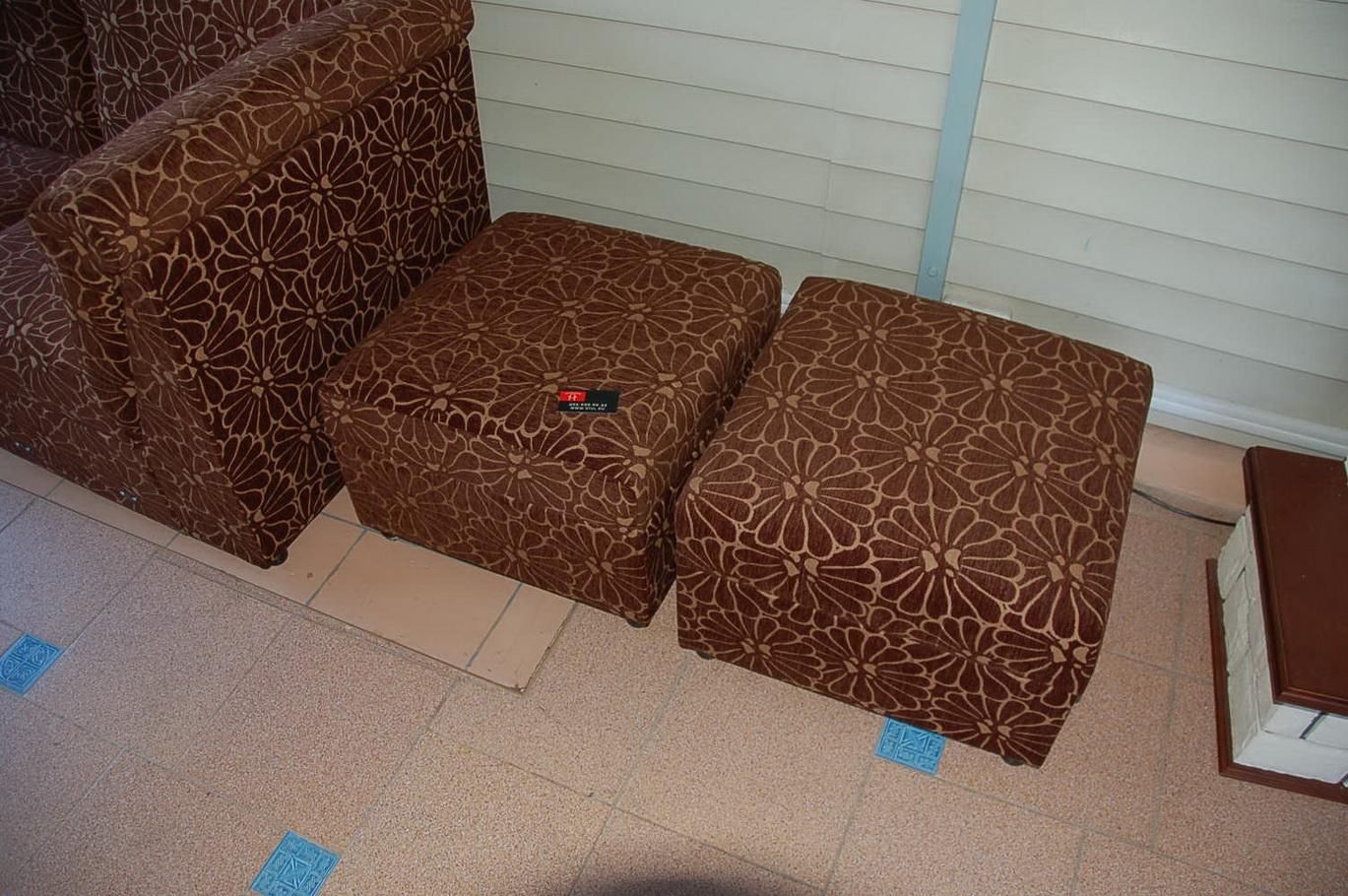 Перетянуть тканью диван своими руками