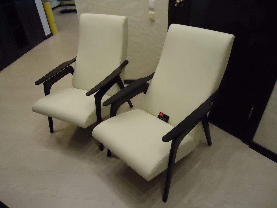 Обтягиваем кресло своими руками