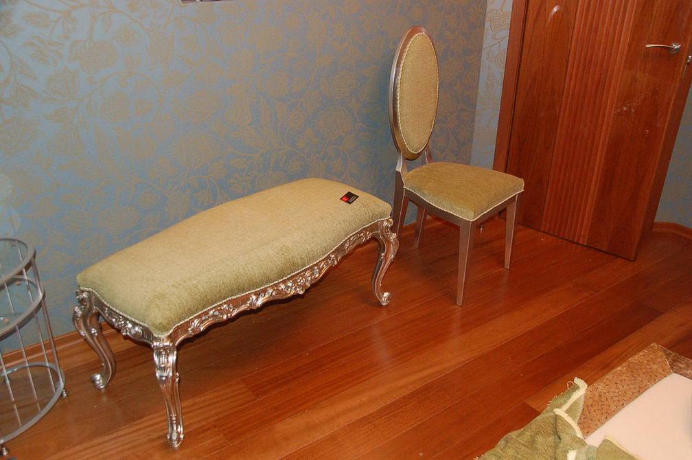 Как в домашних условиях обтянуть стул